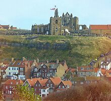 Whitby in October by Sue Gurney