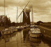 Horsey Windpump, Norfolk by newbeltane