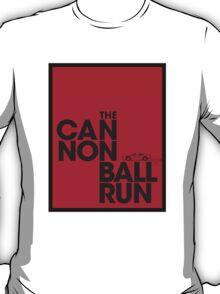 The Cannonball Run - Ferrari 308 GTS T-Shirt