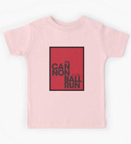 The Cannonball Run - Ferrari 308 GTS Kids Tee