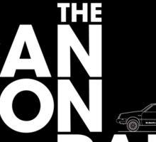 The Cannonball Run - Subaru GL Sticker
