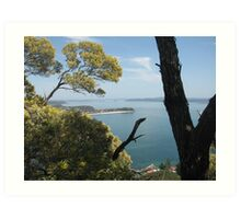 View from Mount Tomaree Art Print