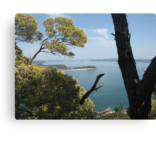 View from Mount Tomaree Canvas Print
