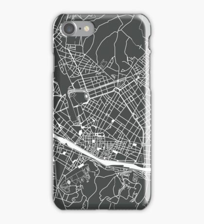 Florence, Italy (dark grey) iPhone Case/Skin