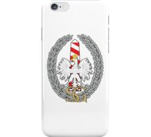 Logo of the Polish Border Guard Force iPhone Case/Skin