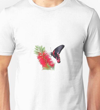 Scarlet Mormon Butterfly T Unisex T-Shirt
