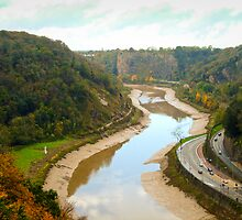 The Avon Gorge by Pastis