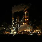 Industry never sleeps by Stanislaw
