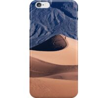 Sunrise over Mesquite Flat Sand Dunes iPhone Case/Skin