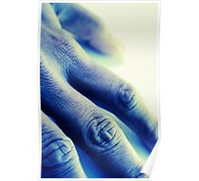 The Blue Hand Poster