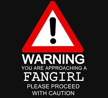 Warning You Are Approaching A Fangirl Please Proceed With Caution Tank Top