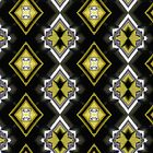 Funky Fashionista - Black, White, and Yellow Design by Barberelli