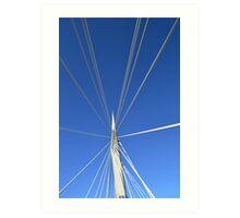 Bridge over Muddy Waters Art Print