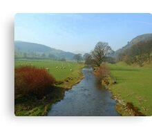 Ceiriog Valley Canvas Print