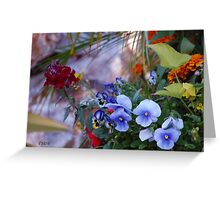 Pansy Breakout Greeting Card
