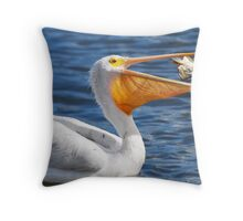 A Toss Up Throw Pillow