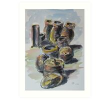 Pots - Acrylic Art Print