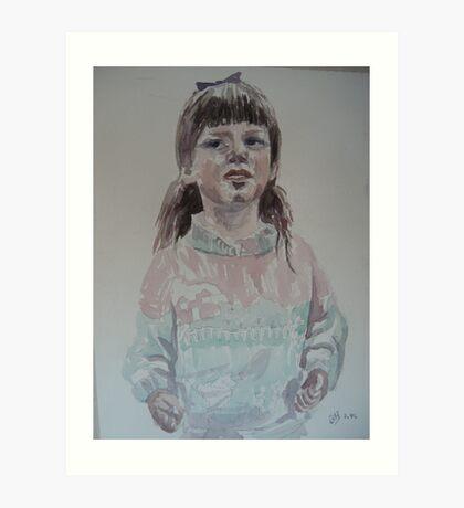Vickie Art Print