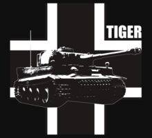tank tiger by hottehue