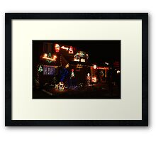 Festive lights Framed Print