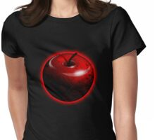 Red Shiny Candy Apple Womens Fitted T-Shirt