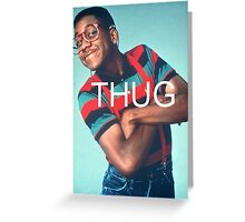 Urkel: THUG. Greeting Card