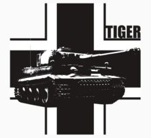 tiger tank Kids Clothes