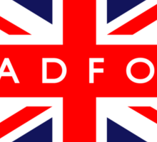 Bradford UK Flag  Sticker