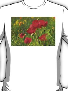 Poppies in Yorkshire T-Shirt