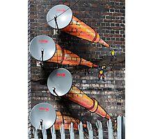 Graffiti - Satellite Photographic Print