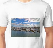 Torquay Marina, Devon, England Unisex T-Shirt