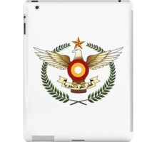 Qatar Air Force Emblem iPad Case/Skin