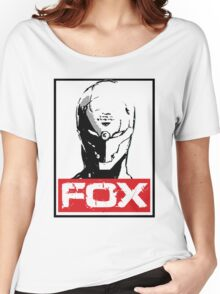 The Fox 02 Women's Relaxed Fit T-Shirt