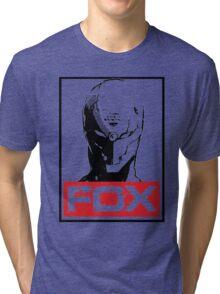 The Fox 02 Tri-blend T-Shirt