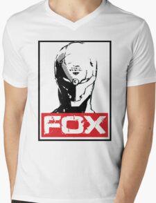 The Fox 02 Mens V-Neck T-Shirt