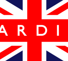 Cardiff UK Flag  Sticker