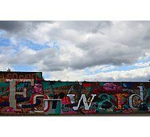 Graffiti - Forward Photographic Print