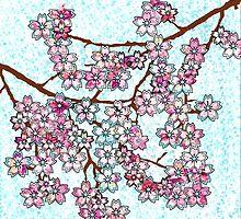 Sakura (Cherry Blossom) Tree  by uniico