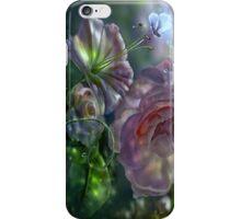 Crystal-flowers iPhone Case/Skin