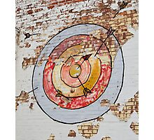 Graffiti - Target Photographic Print