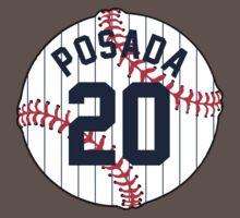 Jorge Posada Baseball Design Kids Clothes