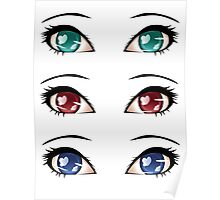 Stylized eyes 8 Poster