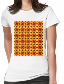 Groovy Baby. Womens Fitted T-Shirt