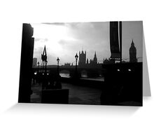 London Skyscape Greeting Card