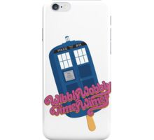 Wibbly Wobbly Timey Wimey Pop iPhone Case/Skin