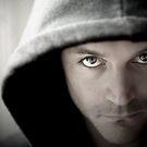Self Portrait - Eyes by Dan Jesperson