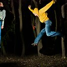 Jump in the woods part 2 by Ian  James