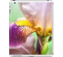 Bright Details. Macro Iris Series iPad Case/Skin