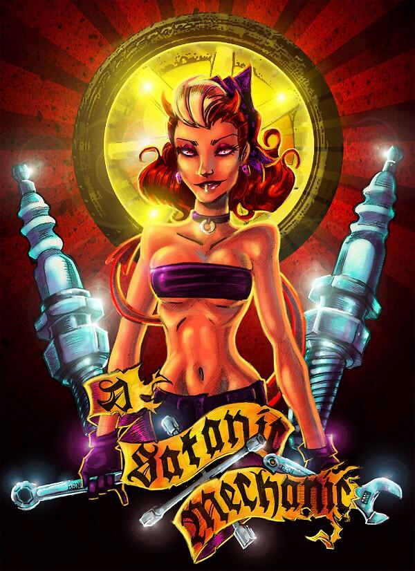 Satanic Mechanic by Benjamin Estrada