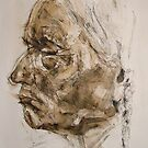Sitting Bull Study by Josh Bowe